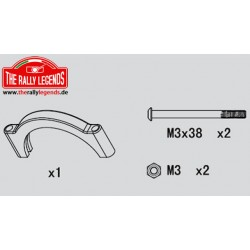 EZRL2208 Pièce détachée - Rally Legends - Support de plaque moteur