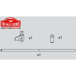 EZRL2210 Pièce détachée - Rally Legends - Antenne et support