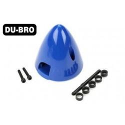 DUB294 Pièce d'avion - Cône d'hélice - 70mm (2-3/4'') - Bleu (1 pce)