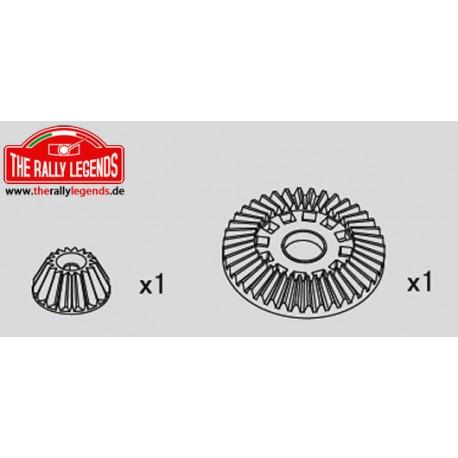 EZRL2220 Pièce détachée - Rally Legends - Couronne de différentiel et pignon cônique