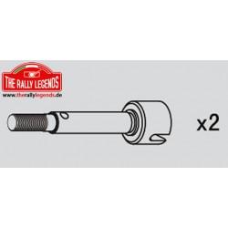 EZRL2230 Pièce détachée - Rally Legends - Axes de roues longs pour Stratos arrière (2 pcs)