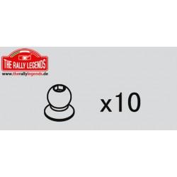EZRL2248 Pièce détachée - Rally Legends - Rotules 4.8X6 (10 pcs)