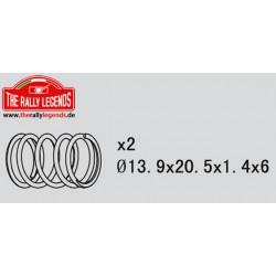 EZRL2249 Pièce détachée - Rally Legends - Ressorts d'amortisseurs (2 pcs)