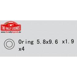 EZRL2250 Pièce détachée - Rally Legends - O-Rings (4 pcs)