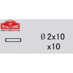 EZRL2252 Pièce détachée - Rally Legends - Goupille 2X10 (10 pcs)