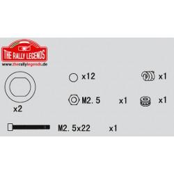 EZRL2255 Pièce détachée - Rally Legends - Vis de différentiel Set