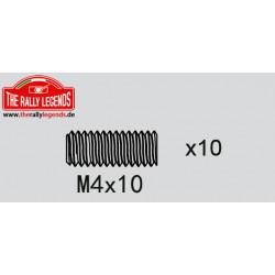 EZRL2278 Vis sans tête - M4 x 10mm (10 pcs)