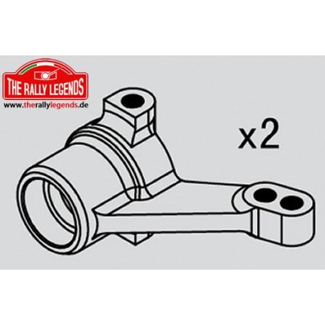 EZRL2288 Pièce Option - Rally Legends - Blocs de direction aluminium (2 pcs)