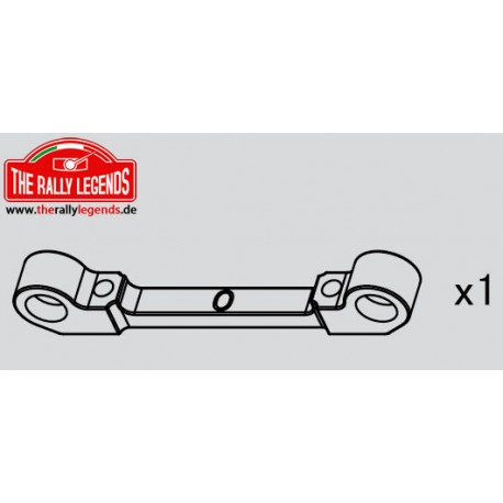 EZRL2294 Pièce Option - Rally Legends - Support de bras aluminium 0°