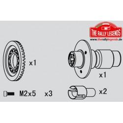 EZRL2299 Pièce détachée - Rally Legends - Roue-libre avant kit