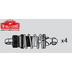 EZRL2300 Pièce Option - Rally Legends - Set d'amortisseurs aluminium pour Rally / Touring Car (4 pcs)