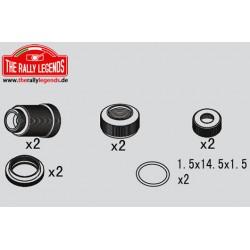 EZRL2301 Pièce détachée - Rally Legends - Corps d'amortisseur Set (2 pces)