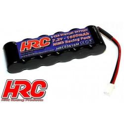 HRC03616M Accu - 6 Eléments - HRC 1600 - RC Car Micro - NiMH - 7.2V 1600mAh - prise Molex side by side