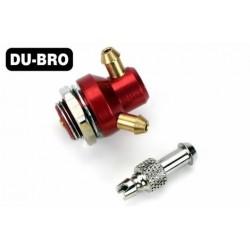 DUB335 Pièce d'avion - Valve de remplissage d'essence (non nitro) Kwik-Fill (1 pce)