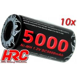 HRC05150B Accu - 1 Elément - 1.2V 5000mAh (10 pces Bulk Pack)