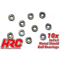 HRC1204 Roulements à billes – métrique - 3x 7x3mm (10 Pces)