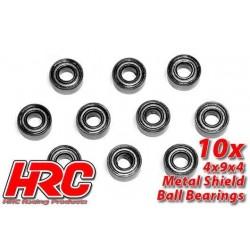 HRC1216 Roulements à billes – métrique - 4x 9x4mm (10 pces)