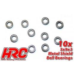 HRC1220 Roulements à billes – métrique - 5x 9x3mm (10 pces)