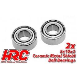 HRC1224CA Roulements à billes – métrique - 5x10x3mm - TSW Pro Racing – céramique (2 pces)