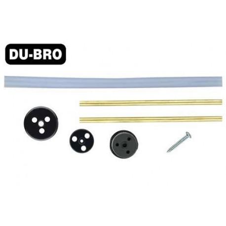 DUB3361 Pièce d'avion - Bouchon et tubes de réservoir nitro - 950-3000ml (32 to 100 oz)
