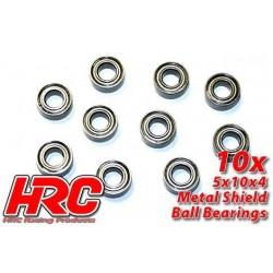 HRC1228 Roulements à billes – métrique - 5x10x4mm (10 pces)