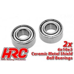 HRC1236CA Roulements à billes – métrique - 6x10x3mm - TSW Pro Racing – céramique (2 pces)