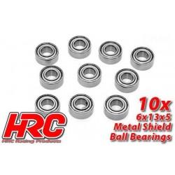 HRC1252 Roulements à billes – métrique - 6x13x5mm (10 pces)