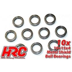 HRC1264 Roulements à billes – métrique - 10x15x4mm (10 pces)