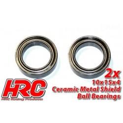 HRC1264CA Roulements à billes - métrique - 10x15x4mm - TSW Pro Racing – céramique (2 pces)