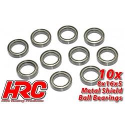 HRC1274 Roulements à billes – métrique - 12x18x4mm (10 pces)