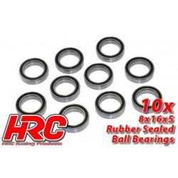 HRC1274RS Roulements à billes – métrique - 12x18x4mm étanche (10 pces)
