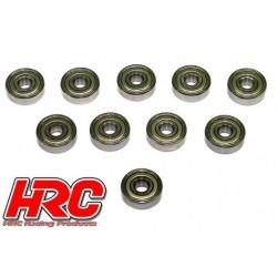 HRC1280 Roulements à billes – métrique - 6x19x6mm (10 pces)
