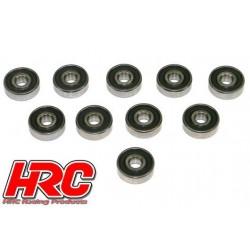 HRC1280RS Roulements à billes – métrique - 6x19x6mm étanche (10 pces)
