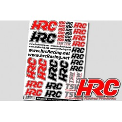 HRC2002A Autocollants - HRC Racing Products - Vinyl Haute Qualité