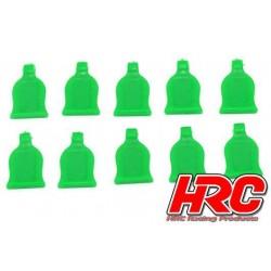 HRC2041GR Grip pour clips de carrosseries - pour clips 1/10 - Vert (10 pces)