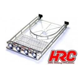 HRC25080SL Pièces de carrosserie - Accessoires 1/10 - Scale - Grande Galerie - avec éclairage LEDs – Silver