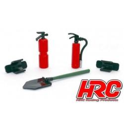 HRC25094F2 Pièces de carrosserie - Accessoires 1/10 - Set d'outils F-2