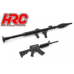 HRC25094G2 Pièces de carrosserie - Accessoires 1/10 - Set d'outils G-2