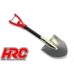 HRC25095A Pièces de carrosserie - Accessoires 1/10 - Scale - Metal Shovel