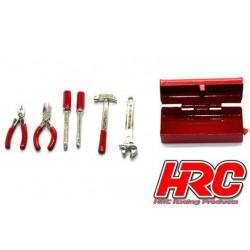 HRC25096A Pièces de carrosserie - Accessoires 1/10 - Scale - Metal Toolbox