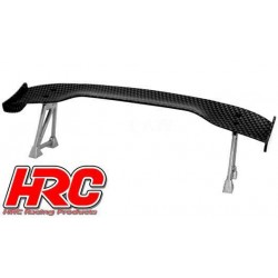 HRC25120B Pièces de carrosserie - Accessoires 1/10 - Scale - Touring / Drift Aileron arrière - Finition Carbone - Type B