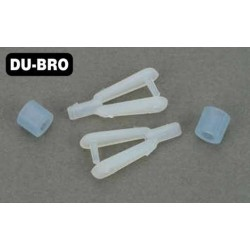 DUB122 Pièce d'avion - Nylon Kwik-Links - Taille Standard (2 pces)