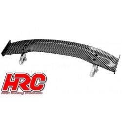 HRC25120C Pièces de carrosserie - Accessoires 1/10 - Scale - Touring / Drift Aileron arrière - Finition Carbone - Type C