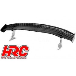 HRC25120D Pièces de carrosserie - Accessoires 1/10 - Scale - Touring / Drift Aileron arrière - Finition Carbone - Type D