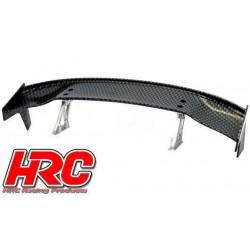 HRC25120E Pièces de carrosserie - Accessoires 1/10 - Scale - Touring / Drift Aileron arrière - Finition Carbone - Type E