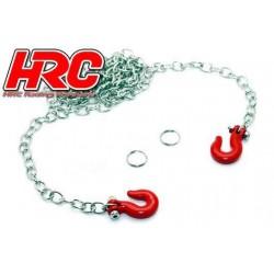 HRC25151A Pièces de carrosserie - Accessoires 1/10 - Scale - Aluminium – Chaîne de remorquage