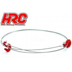 HRC25155A Pièces de carrosserie - Accessoires 1/10 - Scale - Aluminium - Corde de remorquage