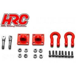 HRC25161A Pièces de carrosserie - Accessoires 1/10 - Scale - Aluminium - Boucles de remorquage