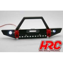 HRC25165C Pièces de carrosserie - Accessoires 1/10 - Aluminium - Pare-choc avec LED - Type C (avant)
