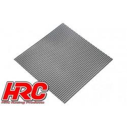 HRC25401F Piéces de carrosserie - Accessoires 1/10 - Scale - Acier Inox - Grille de prise d'air modifiée - 100x100mm